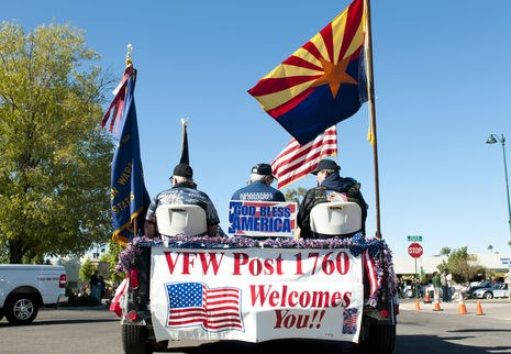 Veterans Parade Float