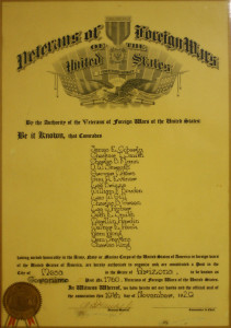 Geronimo Post 1760 Charter