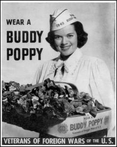Buddy Poppy - vintage