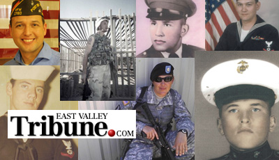 East Valley Tribune Features VFW Members