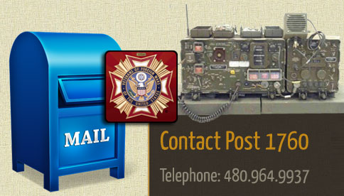 Contact Mesa VFW Post 1760 Dode Morris